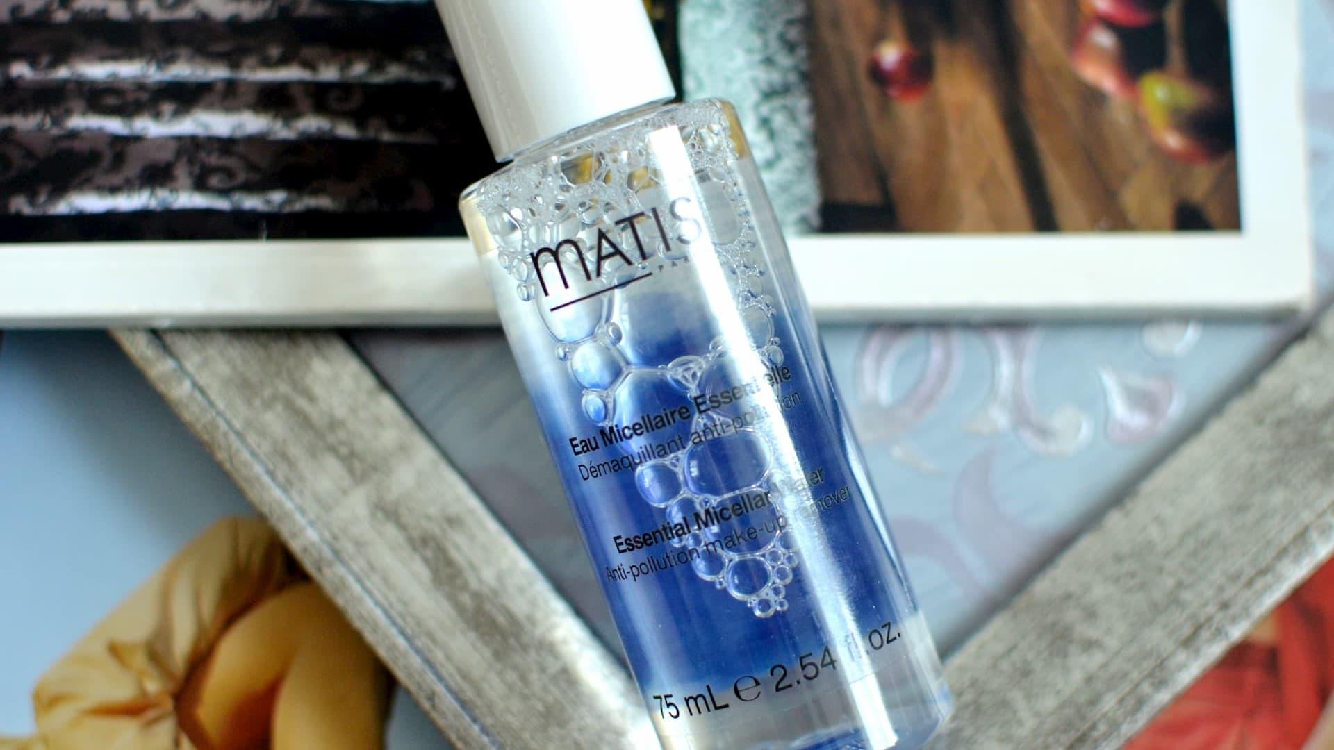 Миниобзор очищающей мицеллярной воды Matis